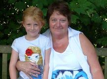 Großmutter und großartige Tochter Lizenzfreie Stockfotos