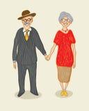 Großmutter und Großvater Lizenzfreie Stockfotografie