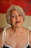 Großmutterportrait Stockfoto
