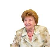 Großmutterportrait Lizenzfreie Stockfotos