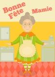 Großmuttertag Frankreich Lizenzfreies Stockbild