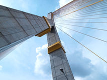 Großriemen Brücke, Rama 8 Lizenzfreie Stockbilder