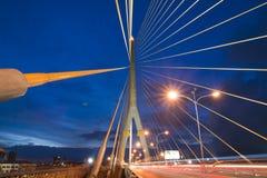 Großriemen Brücke, Rama 8, Lizenzfreies Stockbild