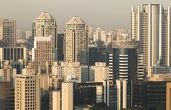 Großstädte Stockbilder