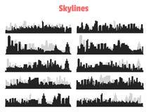 Großstadt-Skyline Lizenzfreie Stockfotografie