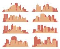 Großstadt-Skyline Stockbild