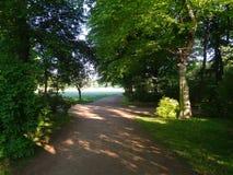 Großer Garten Park Dresden stock image