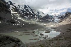 Großglockner和Pasterze冰川 免版税库存照片