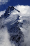 GroÃglockner hightest Berg in Österreich Stockbilder