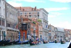 Gro?artiger Kanal in Venedig lizenzfreie stockbilder