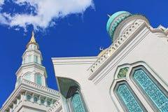 Gro?e Kathedralenmoschee in Moskau, Russland lizenzfreies stockbild
