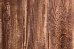 Gro?er Plankenwand-Beschaffenheitshintergrund Browns h?lzerner lizenzfreies stockbild