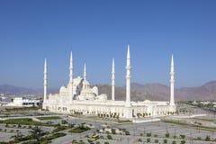Großartige Moschee in Fujairah, UAE Stockbild