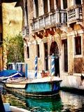 Großartiger Kanal in Venedig - Italien Lizenzfreies Stockbild