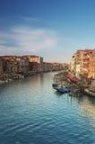 Großartiger Kanal, Venedig - Italien Stockfotos