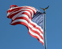 Großartiger Ole Flag Lizenzfreie Stockbilder
