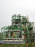 Grobe Erdölraffinerie Stockfotos