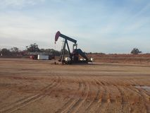 Grobe Pumpensteckfassung Texas Lizenzfreie Stockfotografie