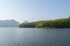 Grobelny jezioro Zdjęcia Royalty Free