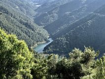 Grobelny jezioro w Izmir obrazy stock