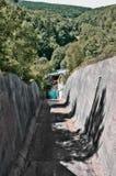 Grobelny Spillway Niemcy fotografia royalty free