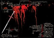 Grober Klingevektor vektor abbildung
