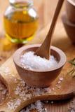 Grobes Salz Lizenzfreies Stockfoto