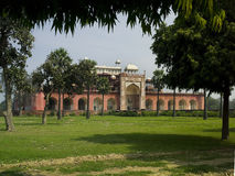 Grobowiec Akbar India - Sikandra - Zdjęcia Royalty Free
