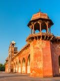 Grobowiec Akbar Wielki przy Sikandra fortem w Agra, India Obrazy Stock