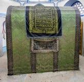 Grobowiec Isaac wśrodku jamy Machpelah w Hebron lub grobowiec patriarchowie Izrael obraz royalty free