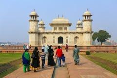 Grobowiec Itimad-ud-Daulah w Agra, Uttar Pradesh, India Zdjęcie Royalty Free