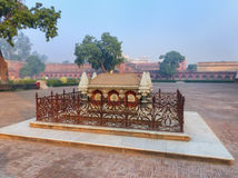 Grobowiec John Colvin w Agra forcie, Uttar Pradesh, India Fotografia Stock