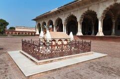 Grobowiec John Russell Colvin wśrodku Czerwonego Agra fortu Fotografia Stock