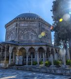 Grobowiec legendarny turecki sułtan Suleyman i jego żona Hurre Obraz Stock