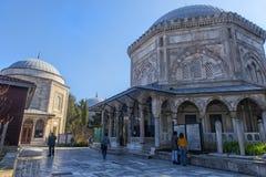 Grobowiec legendarny turecki sułtan Suleyman i jego żona Hurre Zdjęcia Stock
