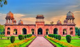 Grobowiec Mariam-uz-Zamani przy Sikandra, Agra -, India Fotografia Stock