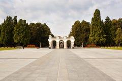 Grobowiec niewiadomy żołnierz w Warszawa, Polska Zdjęcia Stock