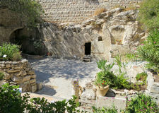grobowiec ogrodu zdjęcie stock