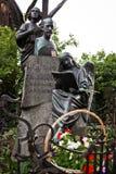 Grobowiec sławny kompozytor Pyotr Tchaikovsky obraz stock