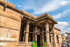 Grobowiec sułtan Ahmed Shah Ja założyciel Ahmedabad Gujarat, India Fotografia Stock