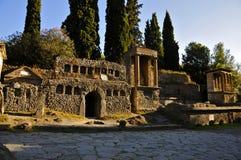 Grobowowie Pompeii ` s Necropolis Obrazy Royalty Free