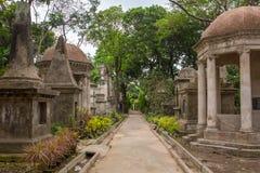 Grobowowie South Park Uliczny cmentarz w Kolkata zdjęcia royalty free