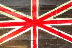 Großbritannien-Flagge Stockfotografie