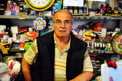 Grocer in Goreme Royalty Free Stock Images