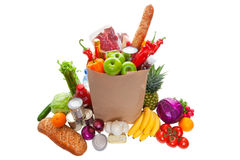 Free Groceries Royalty Free Stock Photos - 23958998