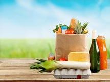 groceries Imagen de archivo libre de regalías