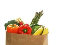 Groceries bag Stock Photos