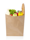Groceries bag royalty free stock photography