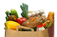 Groceries Bag Royalty Free Stock Photo