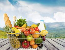 Groceries Royalty Free Stock Photo